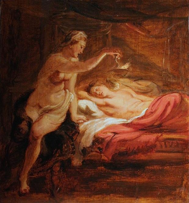 Musée Bonnat - Psyché et l'Amour endormi - Peter Paul Rubens (ca. 1636)